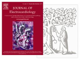 Thumbnail do artigo do Journal of Electrocardiology