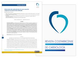 miniatura do artigo da Revista Costaricense de Cardiología