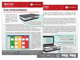 EXO Brochura Synchromax Por que Synchromax é diferente de qualquer outra coisa?
