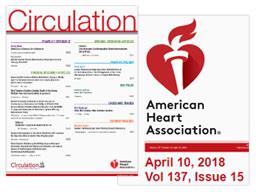 Vignette de l'article de l'American Heart Association