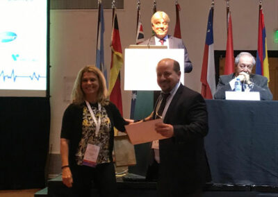 "Premio ""Best Abstract on cardiac Electrophysiology"" en el XVI Congreso Mundial de Arritmias - IX Congreso Argentino de Arritmias"