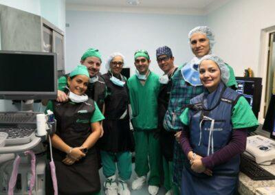 Enfermeros, técnicos y principales referentes en electrofisiología de Costa Rica