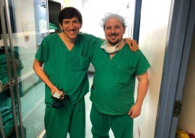 El Dr. Emilio Logarzo durante las jornadas de capacitación