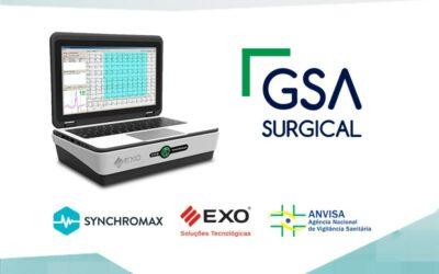 GSA Surgical distribuidor exclusivo de Synchromax en Brasil