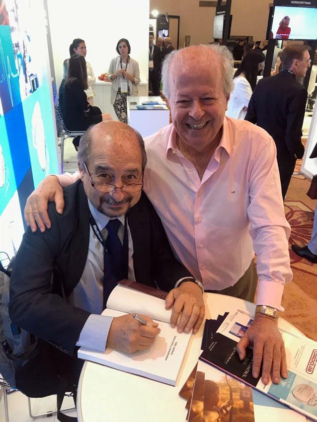 Dr. Raúl Garillo y el Dr. Hugo Villaroel-Ábrego