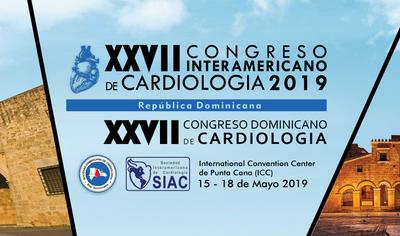 XXVII Congresos Interamericano y Dominicano de Cardiología 2019 en Punta Cana