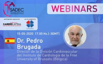 Síndrome de Brugada: Dudas diagnósticas y otras preocupaciones por Pedro Brugada