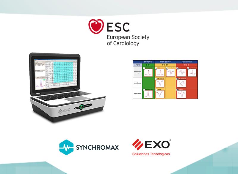 Synchromax estuvo presente en el Congress 2020 de la European Society of Cardiology