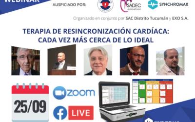 webinar Terapia de resincronización cardíaca, Cada vez más cerca de lo ideal