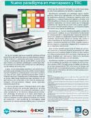 """Folheto EXO Synchromax, """"Monitoramento não-invasivo da Sincronia Cardíaca""""."""